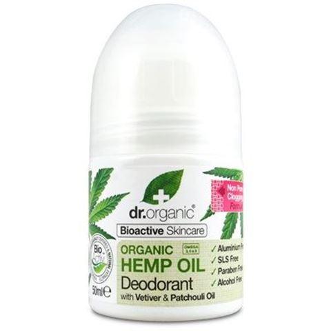 Dr. Organic, Organic Hemp Oil Deodorant 50ml