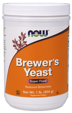 Now Foods Brewer's Yeast Σε Σκόνη 454gr