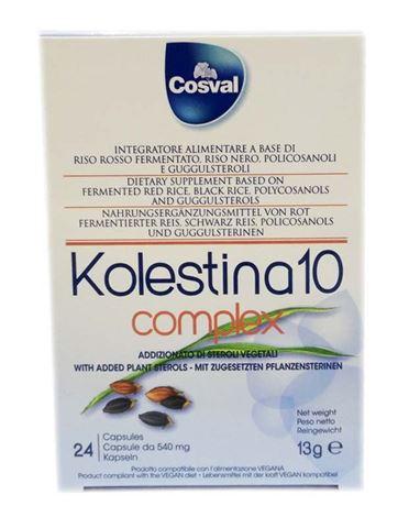 Cosval Kolestina Complex 10, 24 Kάψουλες