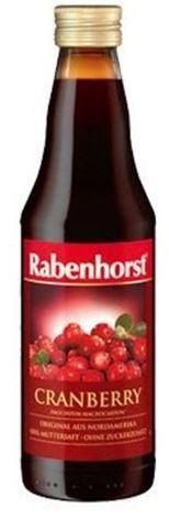Rabenhorst Plus Χυμός Cranberries 750ml