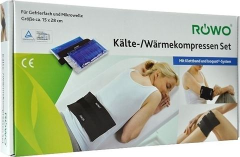 Rowo Cold and Hot Compresses 13x28cm, 1 Τεμάχιο