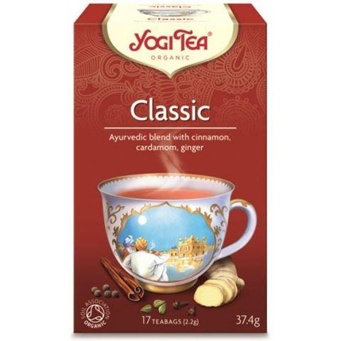 Yogi Tea Classic Ρόφημα Κανέλας Για Ζωντάνια 37.4gr