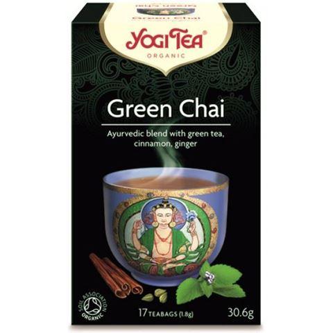 Yogi Tea Green Tea Πράσινο Τσάι 30.6gr