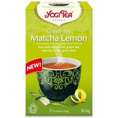 Υogi Tea Green Matcha Lemon 30,6gr