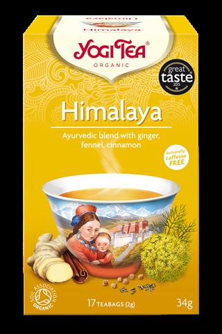 Yogi Tea Himalaya Για Αρμονία Πνεύματος 34gr