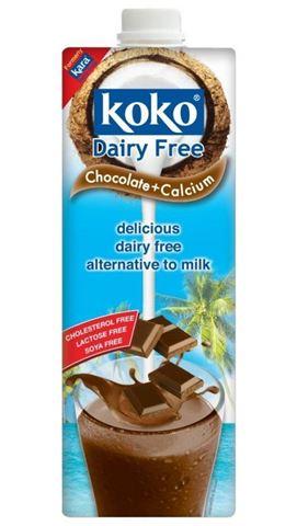 Essential Γάλα Καρύδας με Ασβέστιο, γεύση Κακάο, 1lt