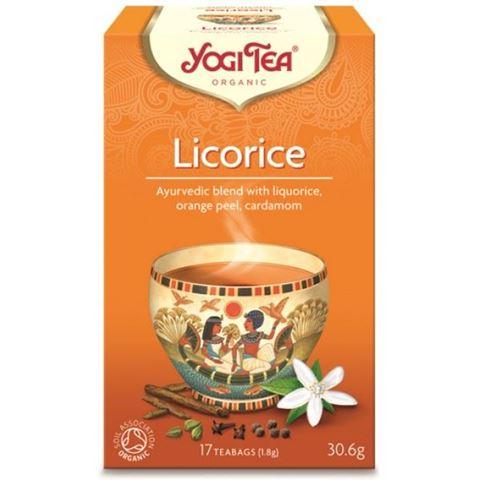Yogi Tea Licorice Αιγυπτιακό Ρόφημα Με Γλυκόριζα 30,6gr