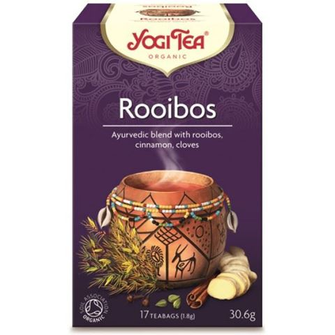 Yogi Tea Rooibos Αφρικανικό Ρόφημα Για Αναγέννηση 30,6gr