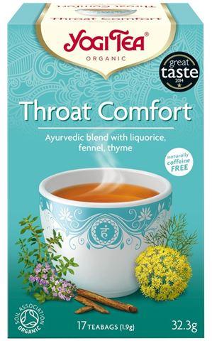 Yogi Tea Throat Comfort για τον Πονόλαιμο 30,6gr