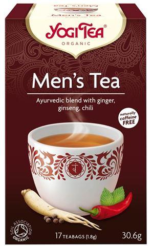 Yogi Tea Men's το Τσάι του Άνδρα 30,6gr