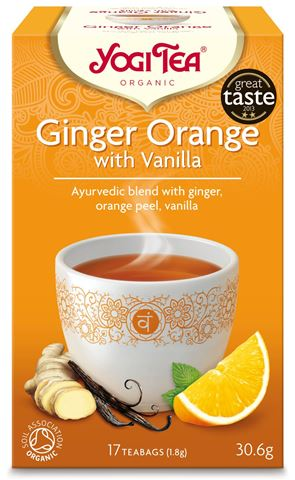 Yogi Tea Ginger Orange Vanilla 30,6gr