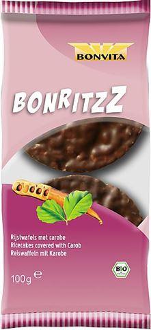 Bonvita Ρυζογκοφρέτες με Xαρούπι 100gr (BON003)
