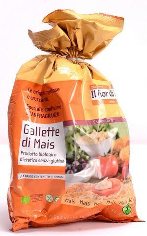 Fior di loto Καλαμποκογκοφρέτα με Aλάτι Oικογενειακή Συσκευασία 130gr