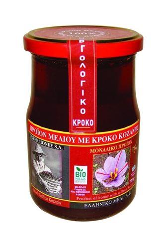 Μέλι Ανθέων με Κρόκο Κοζάνης 720gr