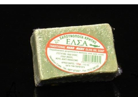 Lato Σαπούνι Πράσινο Χειροποίητο 125gr