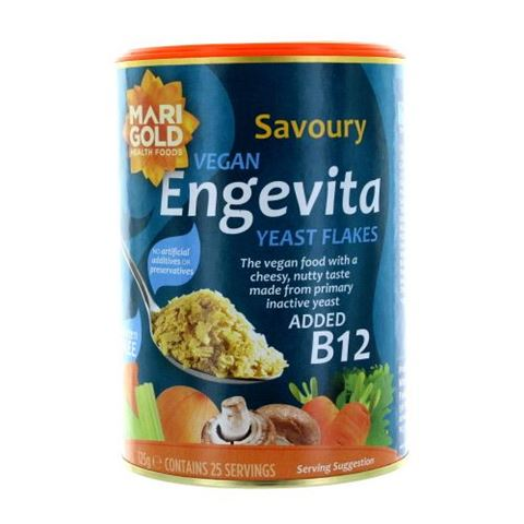 MariGold Διατροφική μαγιά σε Nιφάδες με Β12, 125gr