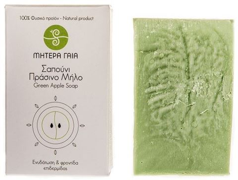 Μητέρα Γαία Σαπούνι Πράσινο Μήλο 120gr