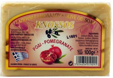 Knossos Ελαιοσάπουνο Ρόδι 100gr