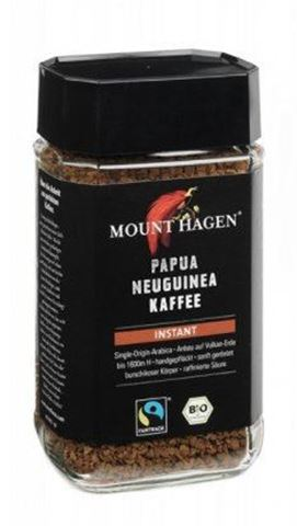 Mount Hagen Καφές Στιγμιαίος Papua BIO 100gr