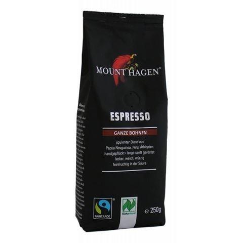 Mount Hagen Καφές Espresso σε Κόκκους BIO 250gr