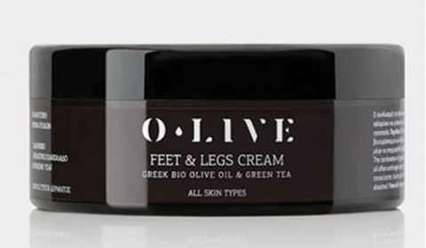 O.Live Relaxing Foot and Legs Cream, 200ml