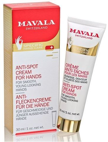 Mavala Anti-Spot Cream για τα Χέρια, 30ml