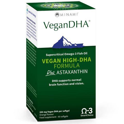 Minami Nutrition VeganDHA, 60 Κάψουλες