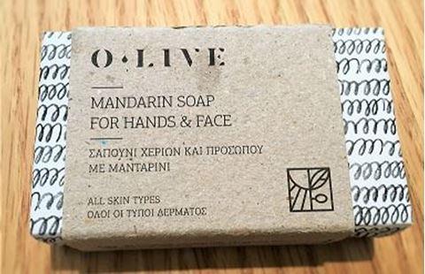 O.Live Σαπούνι με Άρωμα Μανταρίνι,100gr