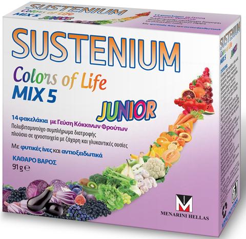 Menarini Colors Life Junior 14 Φακελάκια