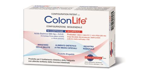 Bionat Colon Life 10 Ταμπλέτες & 10 Κάψουλες