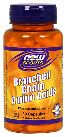 Now Foods Branched Chain Amino Acids Capsules (BCAA), 120  Κάψουλες