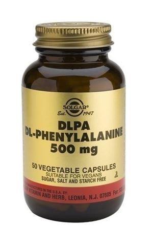 Solgar DLPA DL-Phenylalanine 500mg, 50 Φυτικές Κάψουλες
