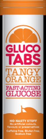 GlucoTabs Ταμπλέτες Υπογλυκαιμίας με Γεύση Πορτοκάλι, 10 ταμπλέτες