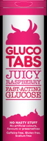 GlucoTabs Ταμπλέτες Υπογλυκαιμίας με Γεύση Φραμπουαζ, 10 ταμπλέτες