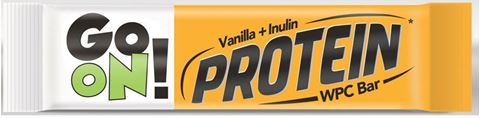 Go On Mπάρα Πρωτεΐνης Βανίλια - Ινουλίνη 50gr