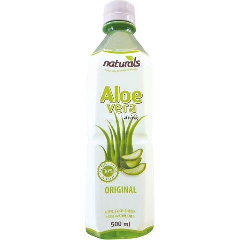 Naturals Aloe Vera Natural 30% πολτός, 500ml
