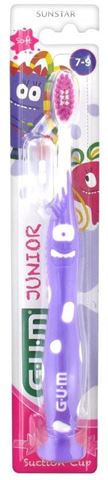 GUM Junior Monster Toothbrush 902, 7-9 Ετών, 1 Τεμάχιο