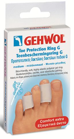 Gehwol Προστατευτικός Δακτύλιος Δακτύλων Ποδιού G Large, 2 Τεμάχια