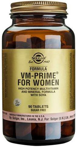 Solgar Formula VM-Prime for Women 90 Ταμπλέτες