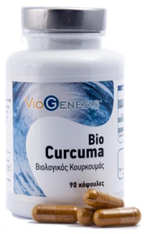 Viogenesis Curcuma BIO 90 Κάψουλες