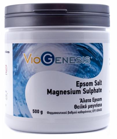 Viogenesis Epsom Magnesium Sulphate 500gr