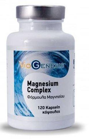 Viogenesis Magnesium Complex 200mg 120 Κάψουλες