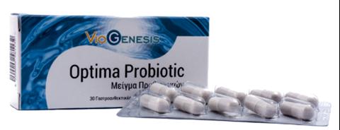 Viogenesis Optima Probiotic 22 Billion 30 Enteric Coated Capsules
