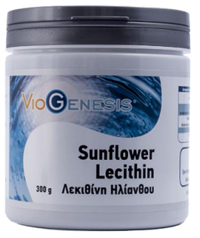 Viogenesis Sunflower Lecithin Powder 300gr