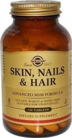 Solgar Skin, Nails & Hair 120 Ταμπλέτες