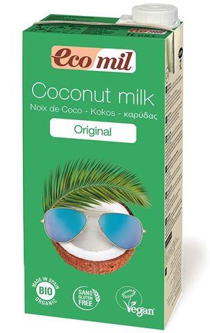 EcoMil Γάλα Καρύδας με Αγάβη, Original 1lt