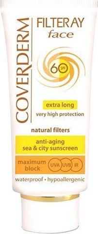 Coverderm Filteray Face Cream SPF60, 50ml