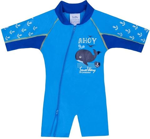 Sunway Ολόσωμο UV Ahoy Blue, Size 4