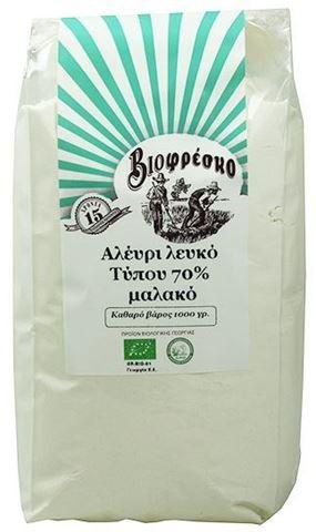 Βιοφρέσκο Αλεύρι Τύπου (70%) 1000gr Ημ.Λήξης 30.3.2021