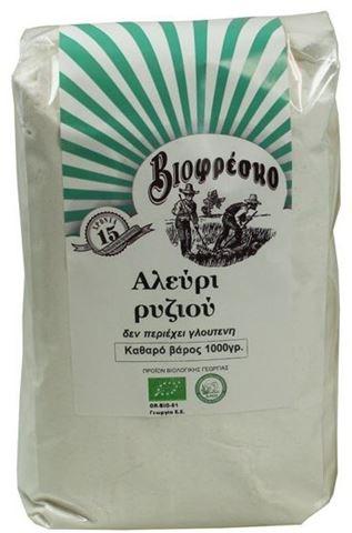Βιοφρέσκο Αλεύρι ρυζιού 1000gr